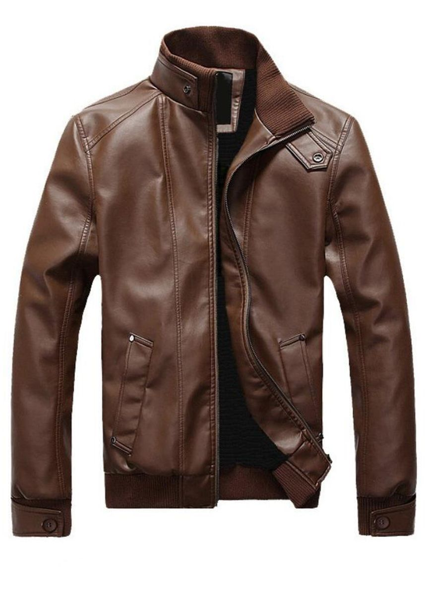 Brown color Jackets . Men's Leather Jackets -