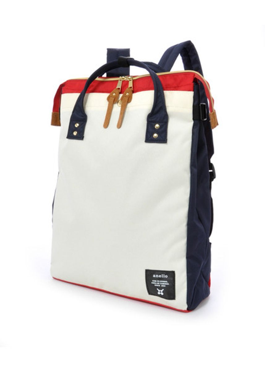 Multi color Backpacks . Anello Square Tote Backpack -
