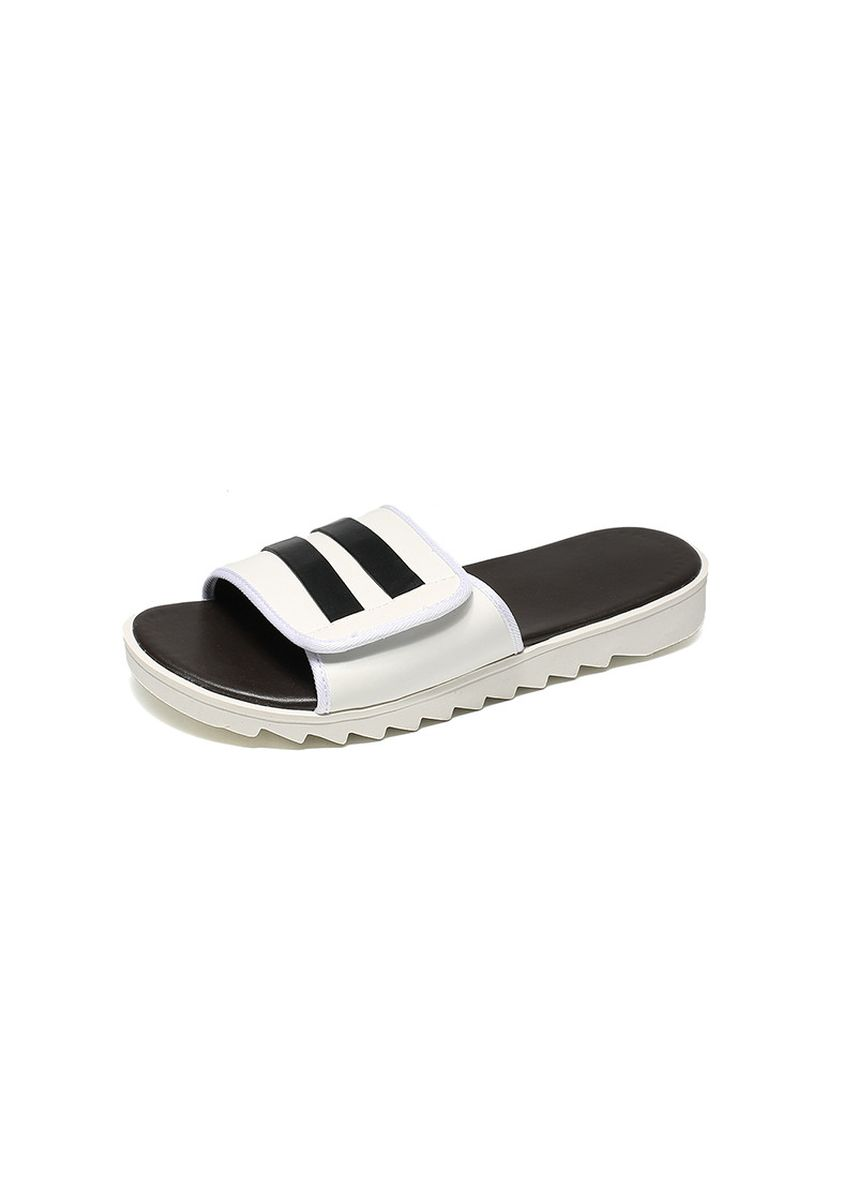 White color Sandals and Slippers . Men's Flip Flops Rubber Slippers -