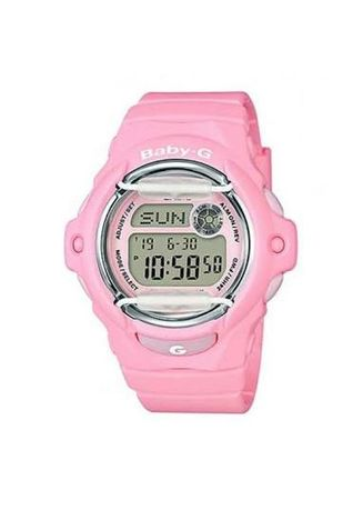 Pink color Analog . Jam Tangan Wanita Sports Casio Baby-G Original BG-169R-4C Original -