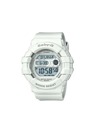 White color Analog . Jam Tangan Original Jam Casio Wanita ORiginal Casio Baby-G BGD-141-7 -