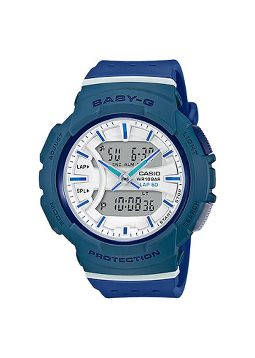 Navy color Analog . Jam Tangan Wanita Runner Casio Baby G Original BGA-240-2A2 Original -