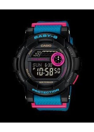 Blue color Analog . Jam Tangan Wanita Sports Digital Casio Baby-G BGD-180-2 Original -