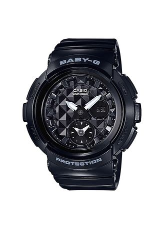 Black color Analog . Terbaru ! Jam Tangan Wanita Sports Casio Baby-G Original BGA-195-1A -