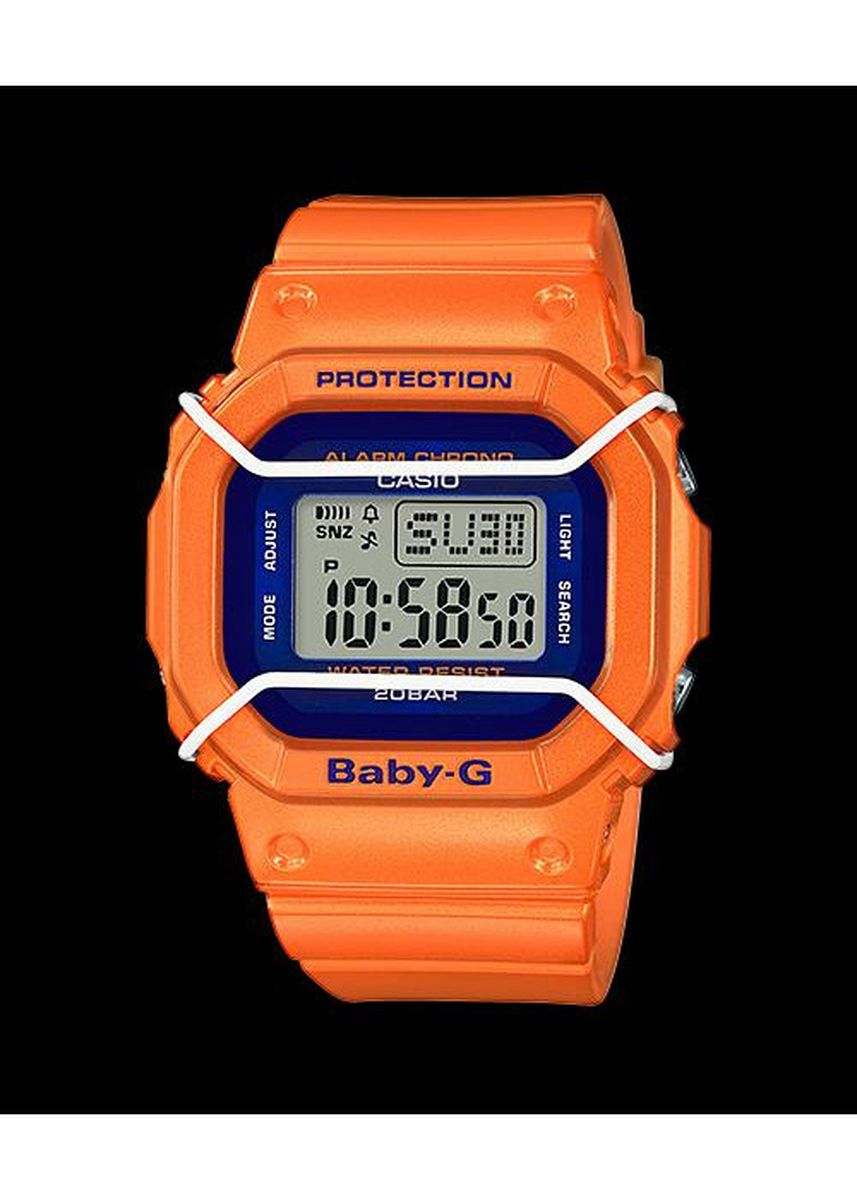 Orange color Analog . Jam Tangan Wanita Sports Casio Baby G Digital Orignal BGD-501FS-4A -