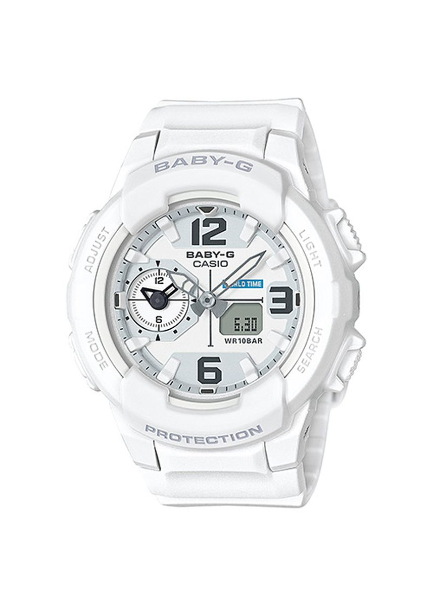White color Analog . Jam Tangan Wanita Sports Casio Baby-G Original BGA-230-7B Jam Baby G -