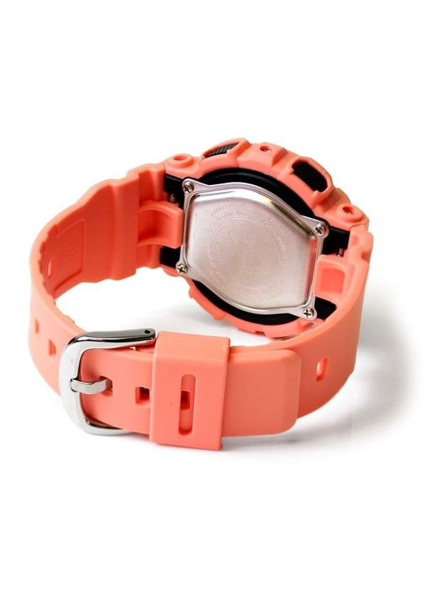 Orange color Analog . Jam Tangan Wanita Dual Time Casio Baby-G Original BA-111-4A2 Original -