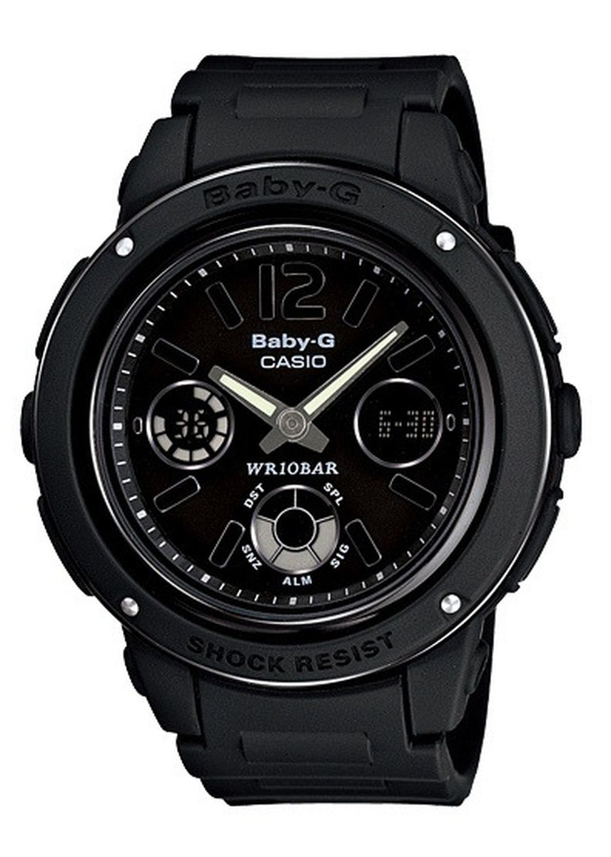 Black color Analog . Jam Tangan Casio Baby-G Original Wanita Bga-151-1b Original Bergaransi -