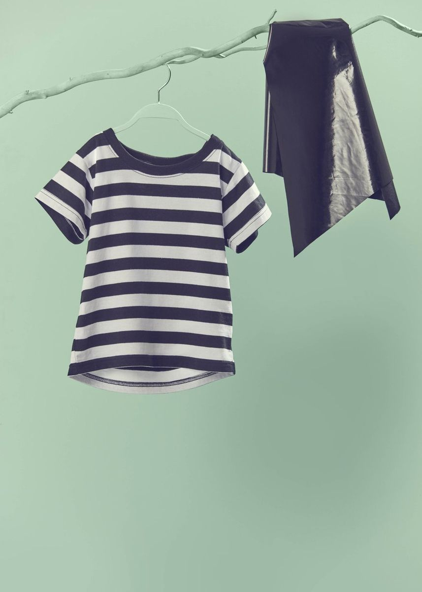 Multi color Tops . Beespoke: Bandit Cape Tee (3-4 years old) -