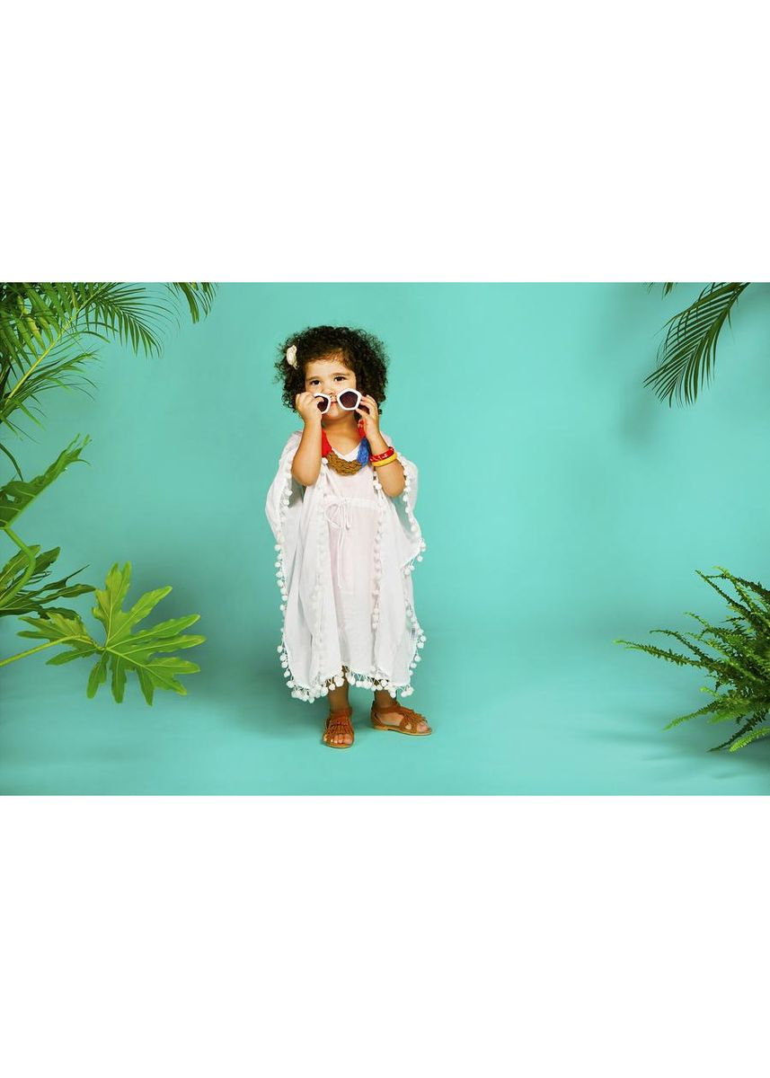 White color Dresses . Bae White kaftan (1-2 years old) -