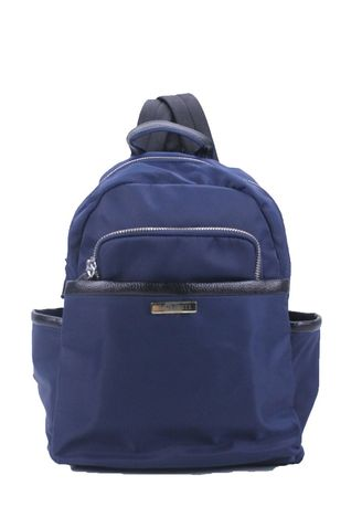 Navy color Backpacks . Silvertote Tas Ransel Wanita Sadie Backpack Nylon Navy -