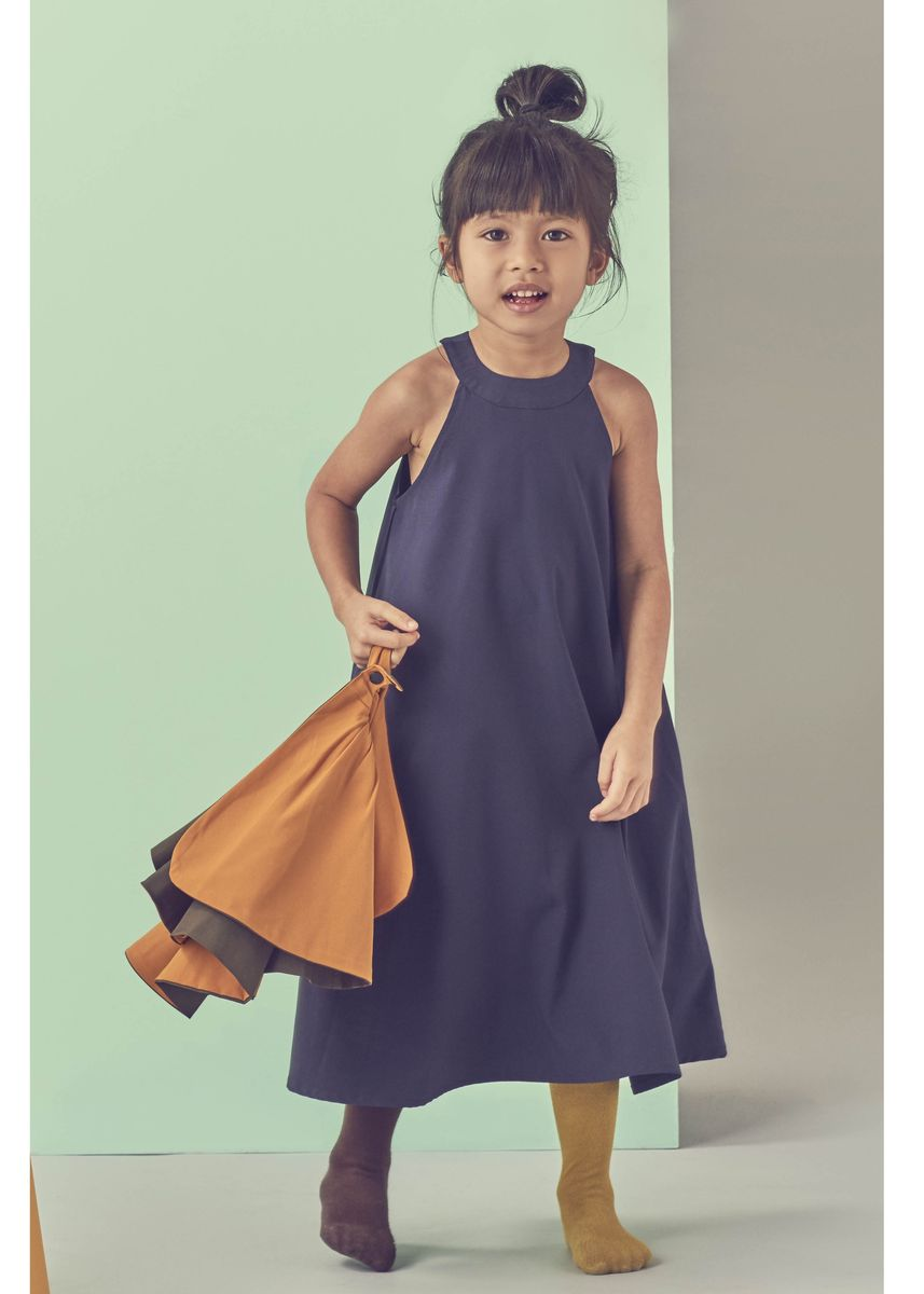 Navy color Dresses . Beespoke: The Bape Dress (1-2 years old) -