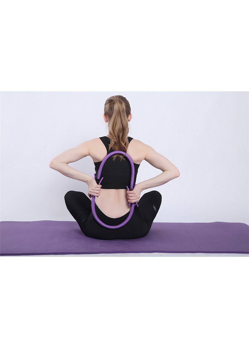 Purple color Fitness Equipment . Full Body Toning Fitness Circle Resistance Exercise Ring for Home Gym  -