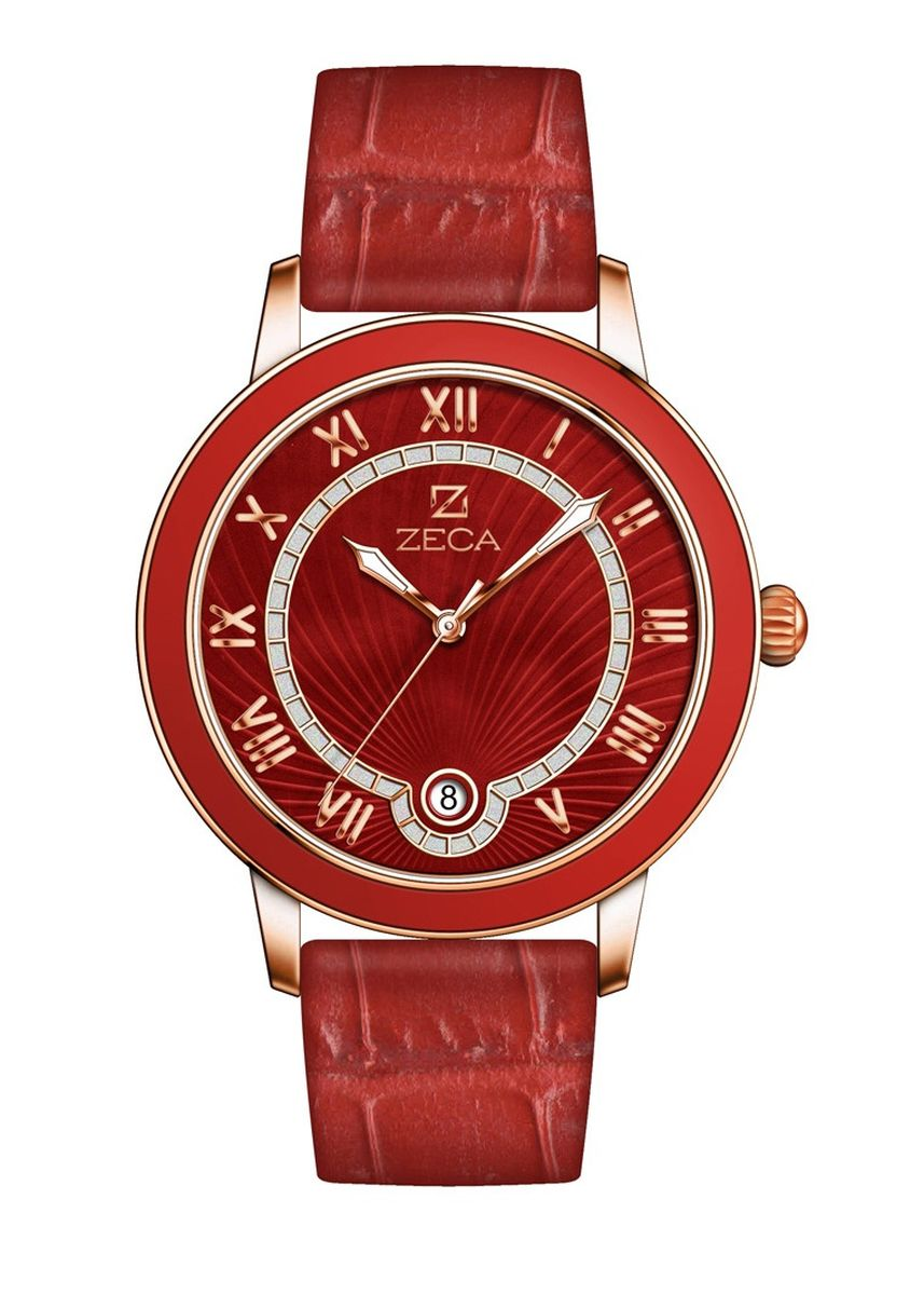 Red color Analog . Zeca Milan Edition Female Analogue- 139L.LRE.D.RG7 -