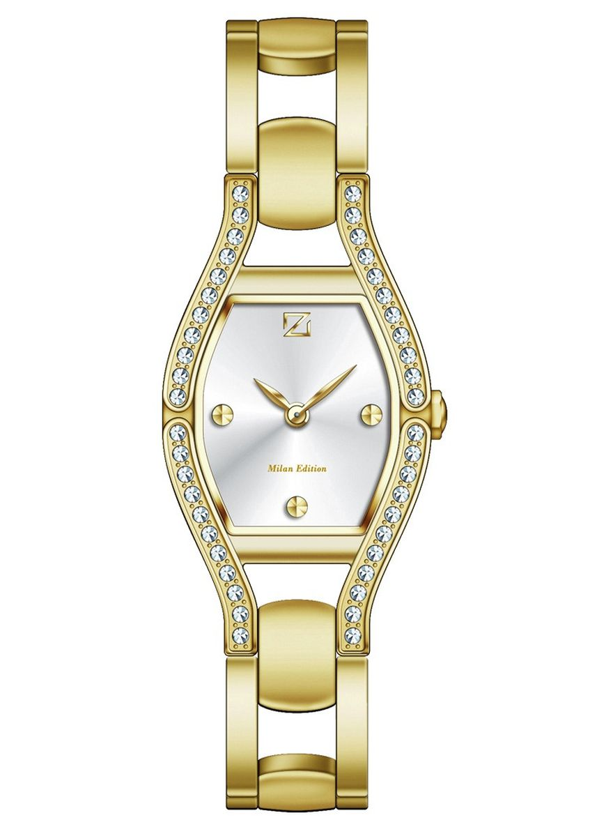 Gold color Analog . Zeca Milan Edition Female Analogue- 142L.S.P.G1 -
