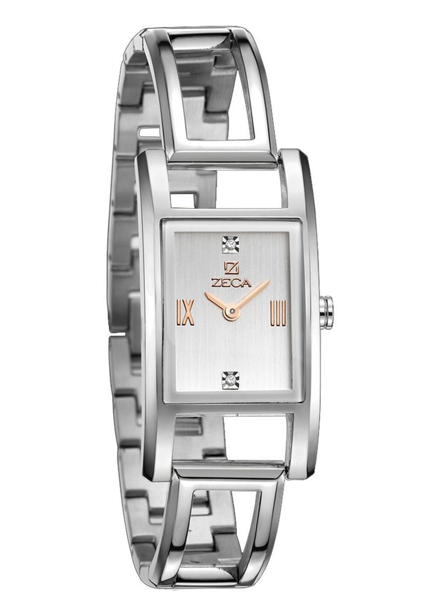 Silver color Analog . Zeca Milan Edition Female Analogue- 146L.S.P.RG1 -