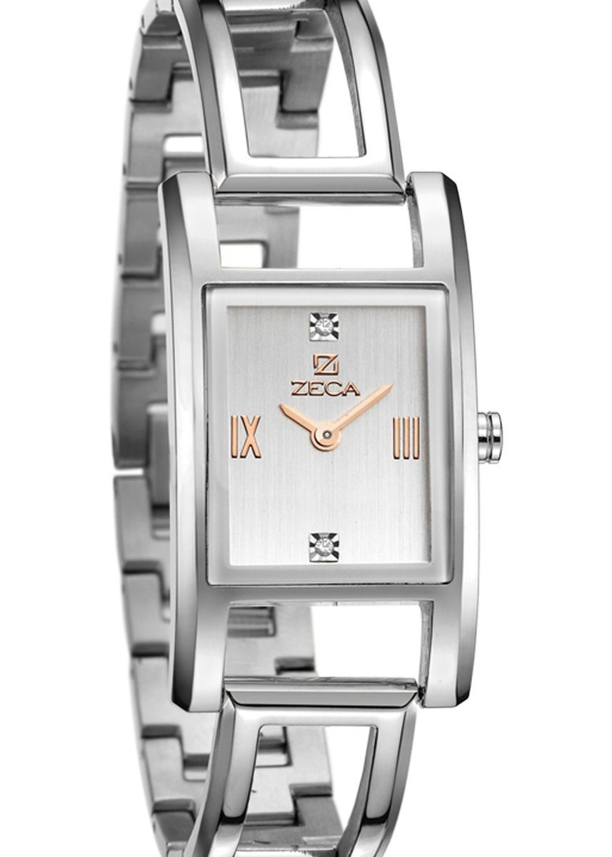 Silver color Analog . Zeca Milan Edition Female Analogue- 146L.S.P.S1RG -