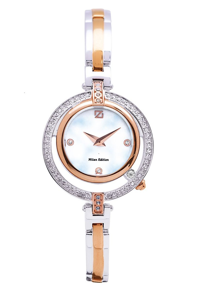 Silver color Analog . Zeca Milan Edition Female Analogue- 193L.S.P.RG1 -