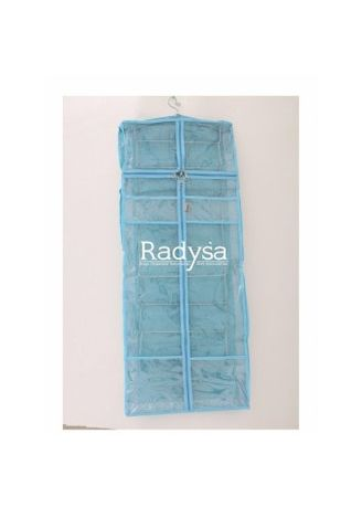 Light Blue color Storage . Radysa Rak Jilbab Hijab Jumbo Organizer -