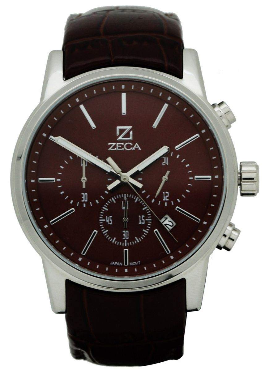 Silver color Analog . Zeca Genoa Edition Male Analogue-225M.LBR.C.S7 -