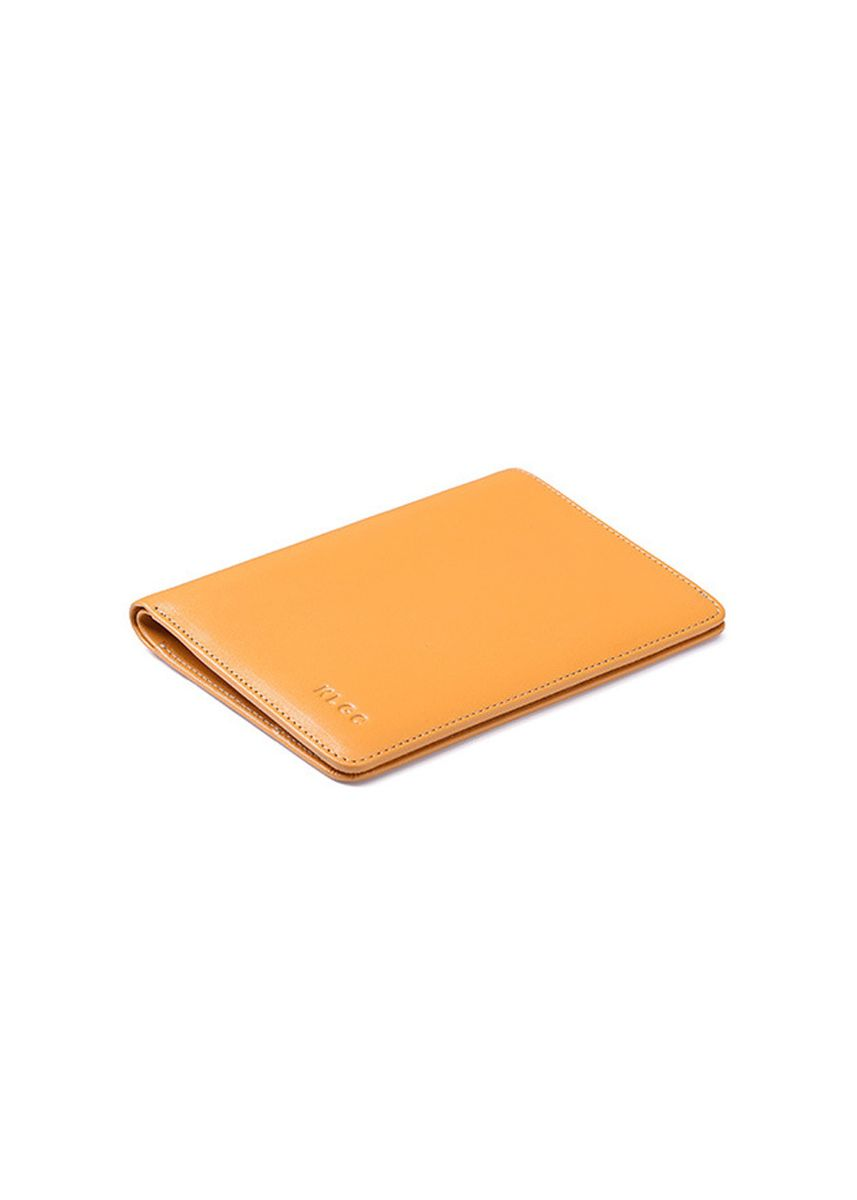 Yellow color Wallets . High Quality Genuine Cow Leather Multi-functional Passport Wallet Men's Travel Holder  -