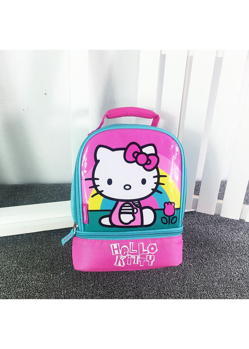 Pink color Bags . BN Kid's Hello Kitty Thermal Insulated Lunch Bag Cooler Bag -