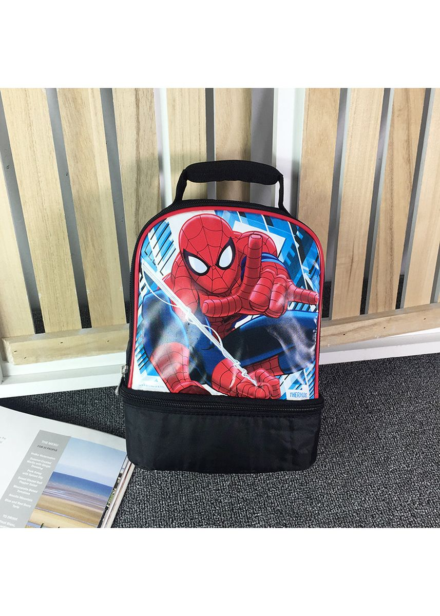 Black color Bags . BN Spiderman Thermal Insulated Lunch Bag -