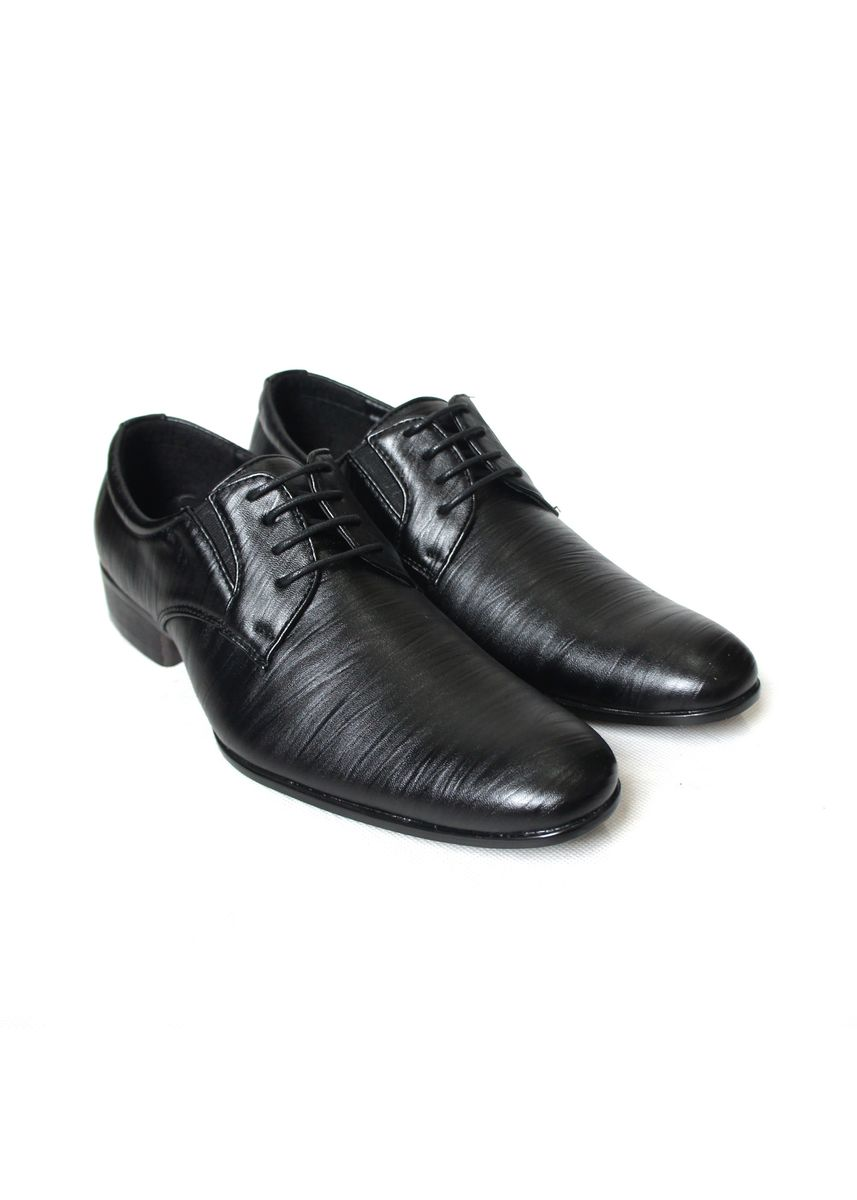 Black color Formal Shoes . JACKSON BROMO 02 -