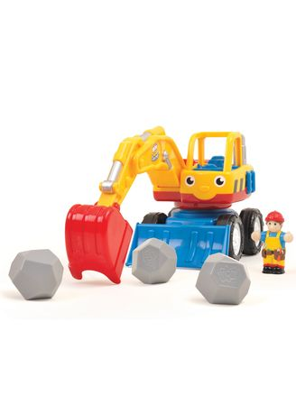 Multi color Toys . Wow Toys Dexter the Digger -