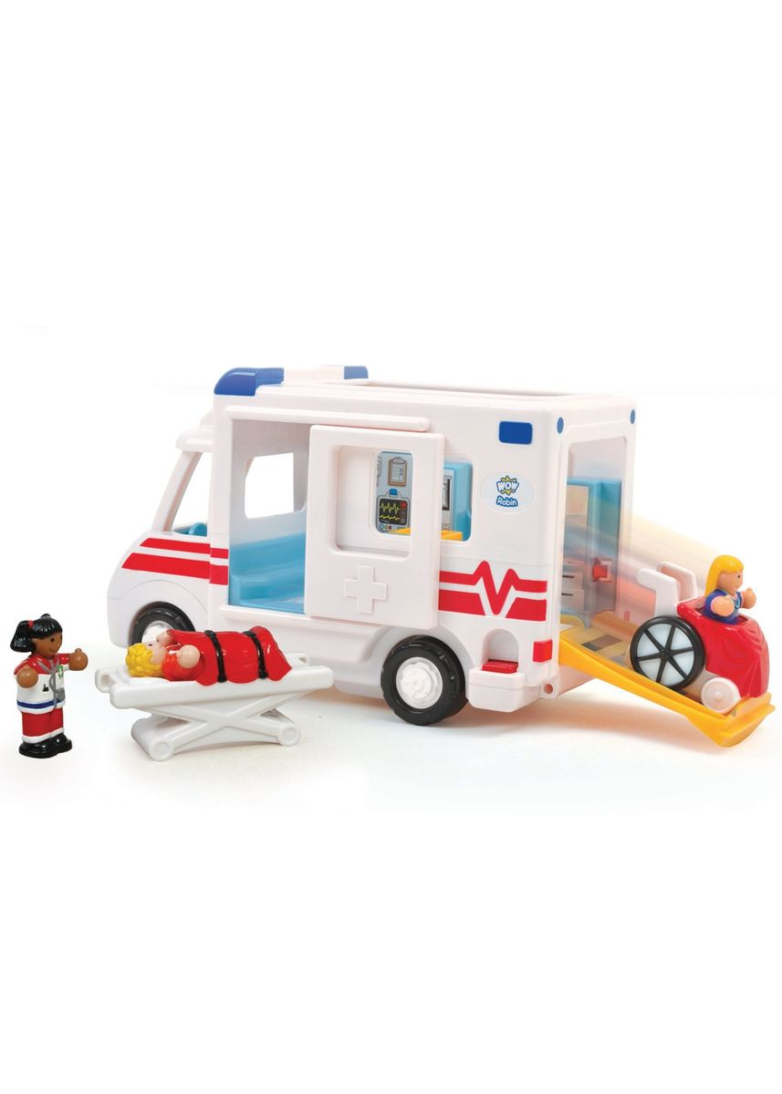 Multi color Toys . Wow Toys Robin's Medical Rescue -