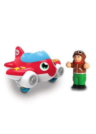 Multi color Toys . Wow Toys My First WOW- Jet Plane Piper -