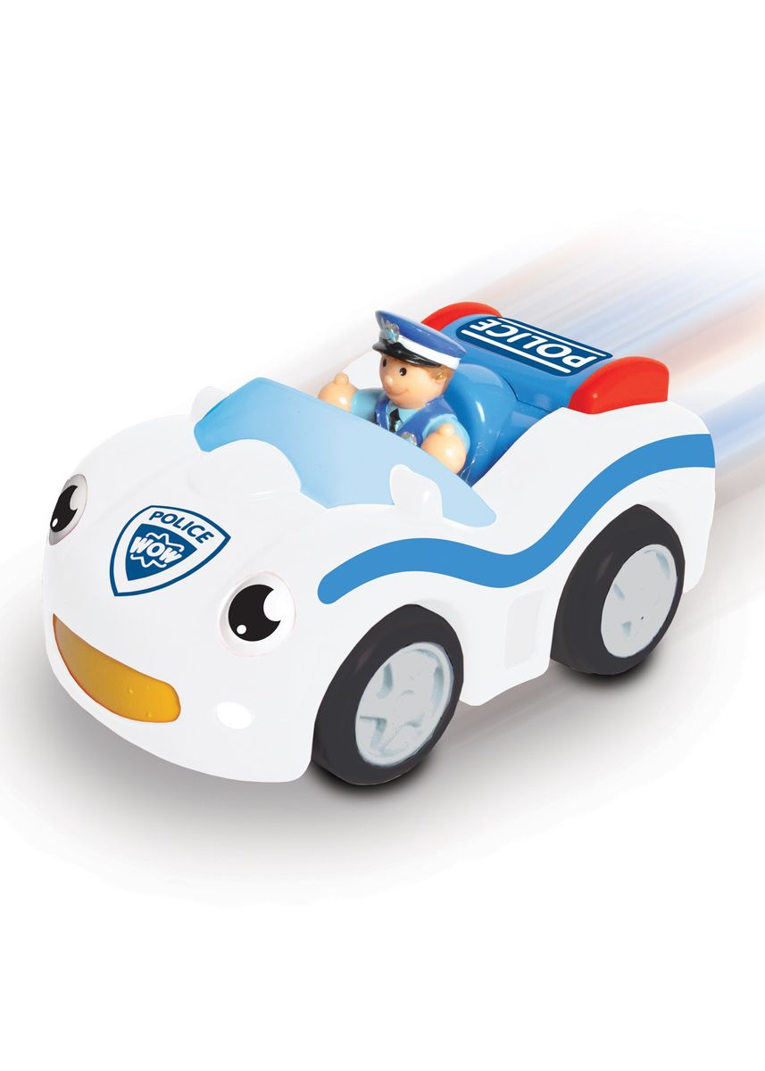Multi color Toys . Wow Toys Cop Car Cody -