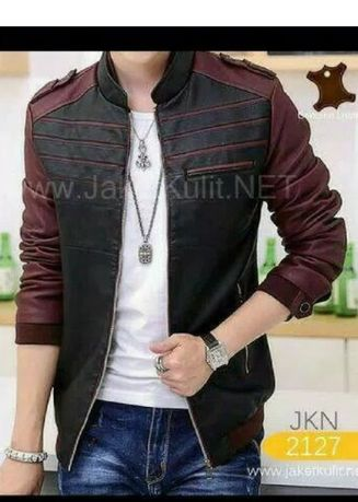 Black color Jackets . JKN 2126 PU LEATHER NEW -