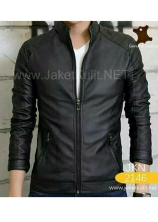 Black color Jackets . JAKET SEM ELEGAN MEN -