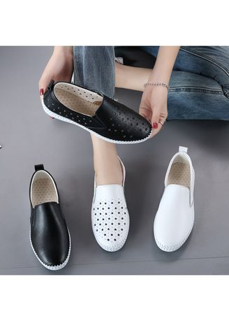 Casual Shoes . Women Casual single shoes flat Small leather shoes -