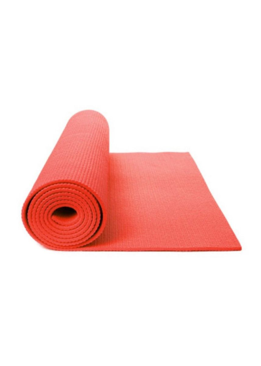 No Color color Yoga & Pilates . Yogamatt Merah -