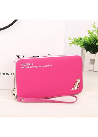 Red color Wallets and Clutches . Original Pidanlu Dompet High Heels Import Fashion Korean Atdiva -