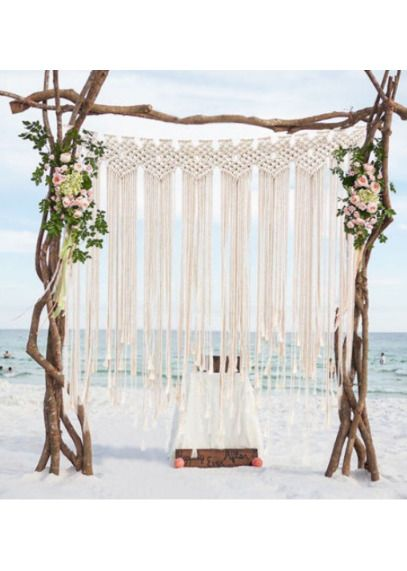 Pure Hand Woven Home Accessories Wedding Wall Decoration Home