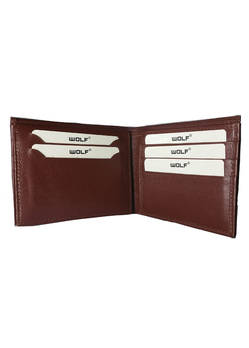 Tan color Wallets . Men's Leather Bifold Fashion Wallet With Coin Pocket -