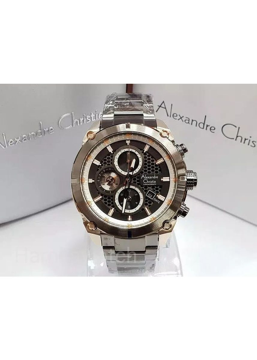 Black color Analog . jam tangan pria alexander cristie original ac6490 grey sofh rose gold -