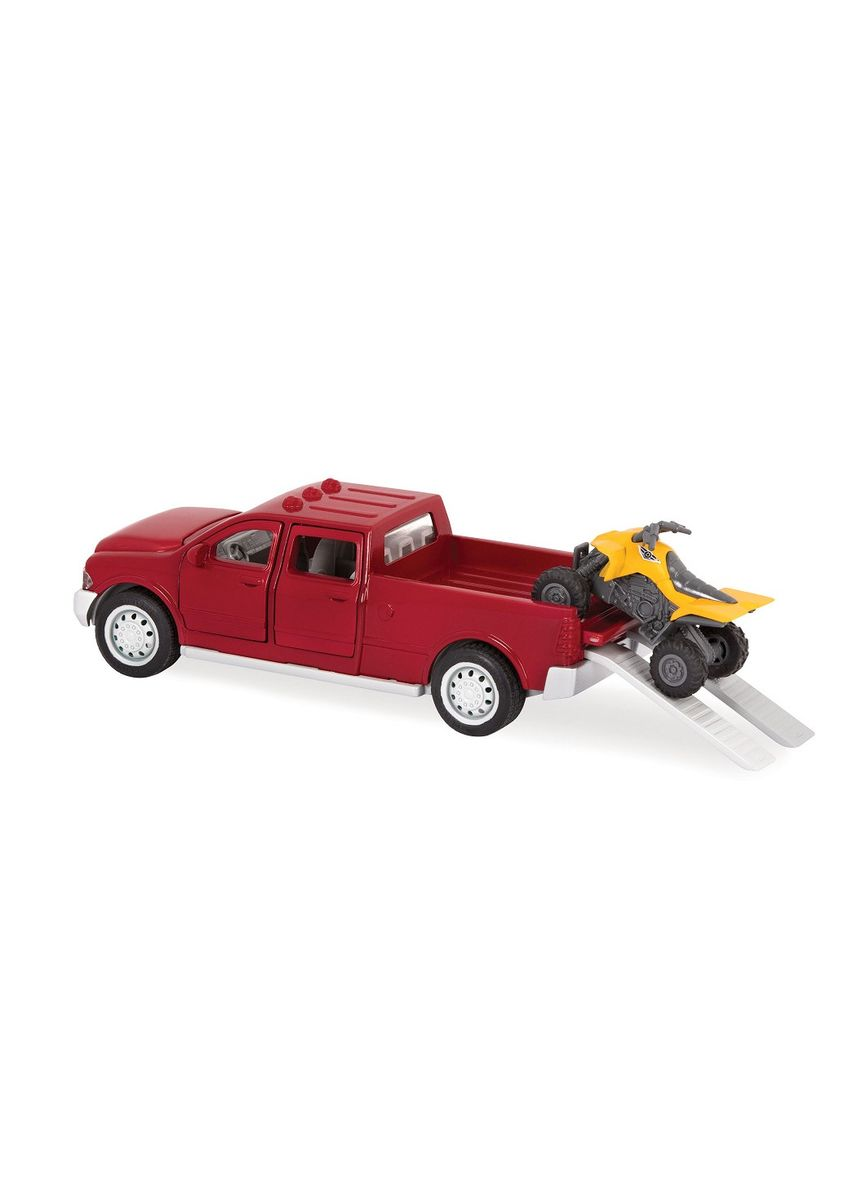 Red color Toys . Driven - Micro Series Pick-Up Truck -