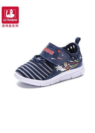 สีกรม color รองเท้า . Ultraman Heros Unisex Toddle's Trainers -