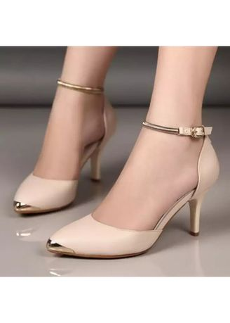 fed5718fe suppliersepatu-sepatu wanita high heel 7 cm cream | Heels | Zilingo ...