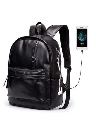 . Traveling  School  Laptop with USB Backpack- 14 -