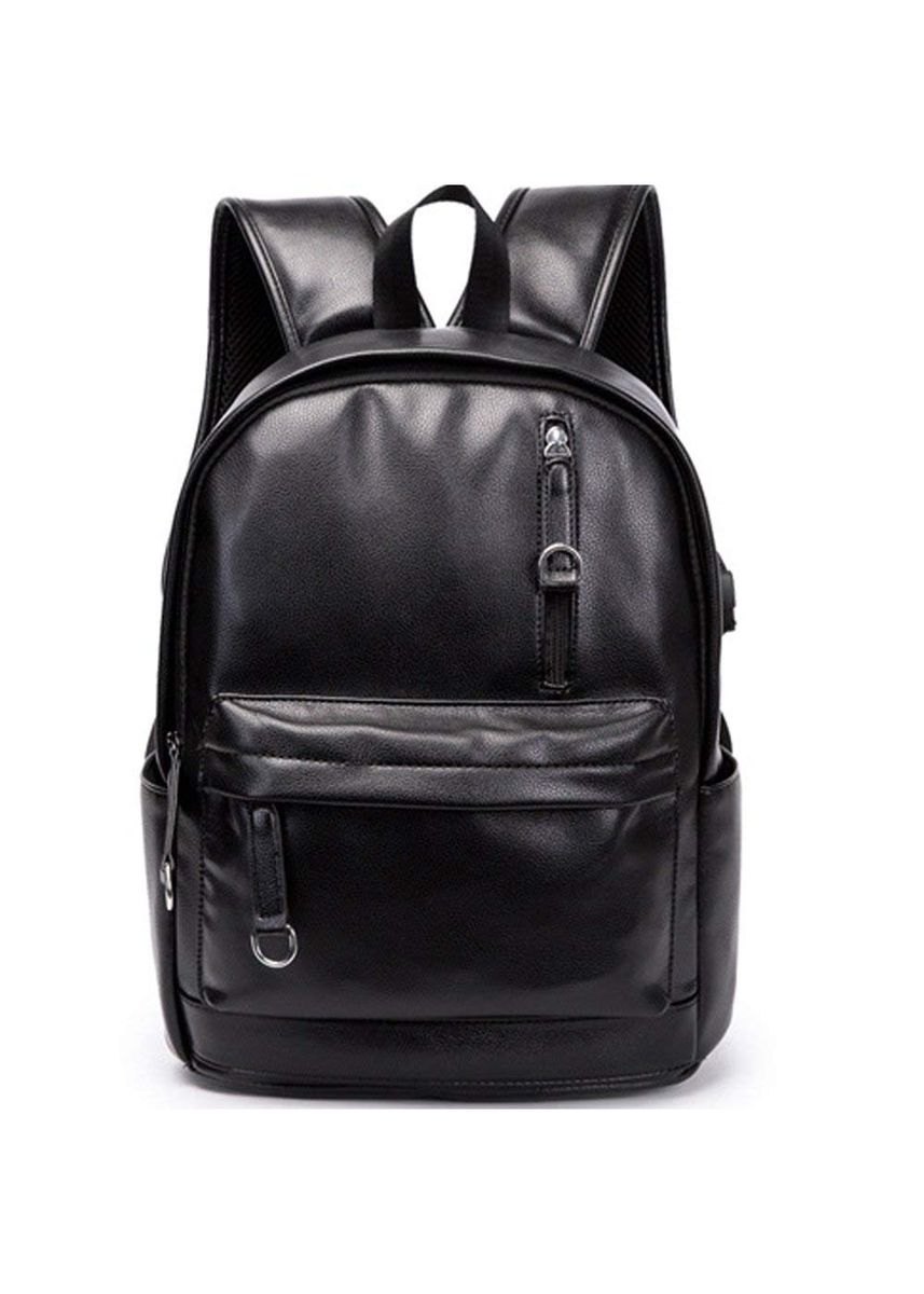 Black color  . Traveling  School  Laptop with USB Backpack- 14 -
