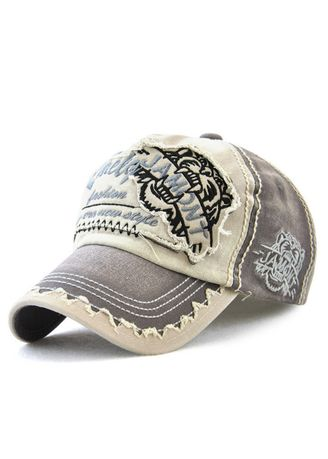 ccb2d748 Patch Embroidered Cap Cotton Baseball Cap