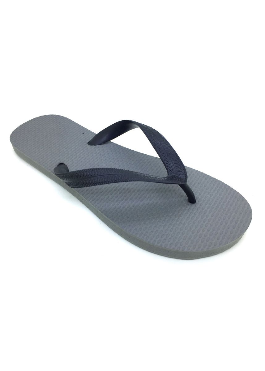 Grey color Sandals and Slippers . Men's Gray Rubber Slippers -