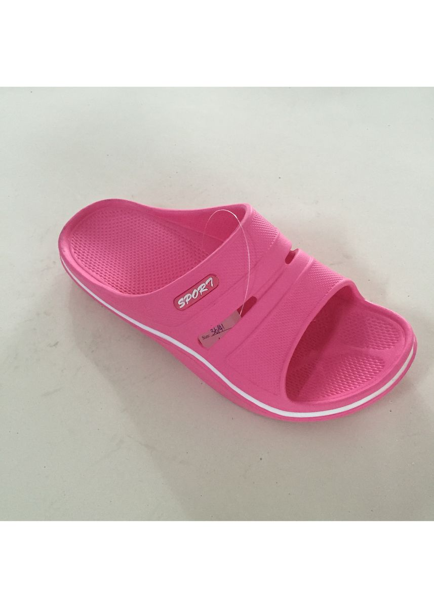 Pink color Sandals and Slippers . Women's Casual EVA Slip On Slipper -