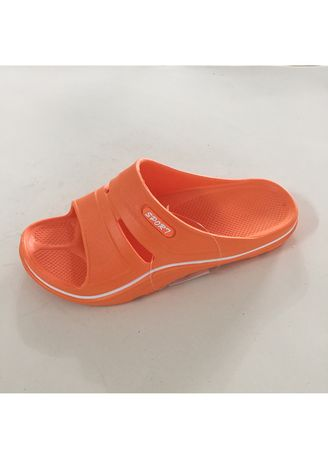 Orange color Sandals and Slippers . Women's Casual EVA Slip On Slipper -