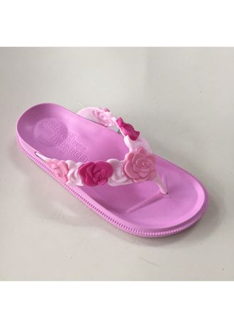 Pink color Sandals and Slippers . Rubber Women's Slipper -